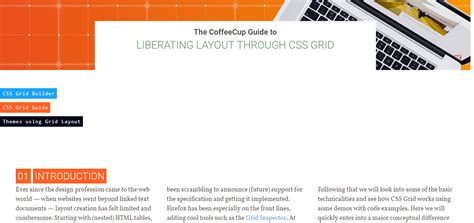 grid layout css tutorial css grid layout tutorials and guides all you need to