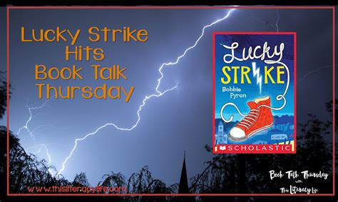 luck strikes lucky series books lucky strike hits book talk thursday this literacy