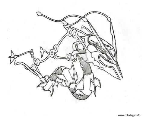 pokemon coloring pages ditto coloriage pokemon mega rayquaza 6 dessin