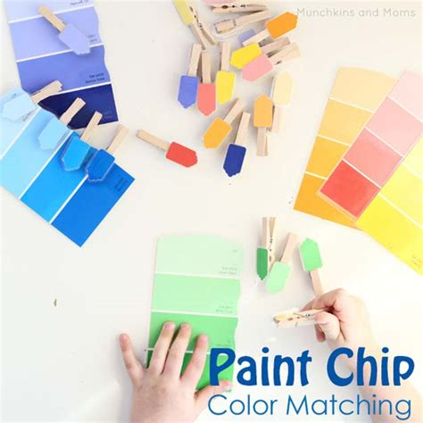40 creatively cool diy ideas with paint chips