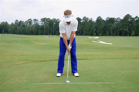 steve stricker wedge swing golf s fundamentals ball position
