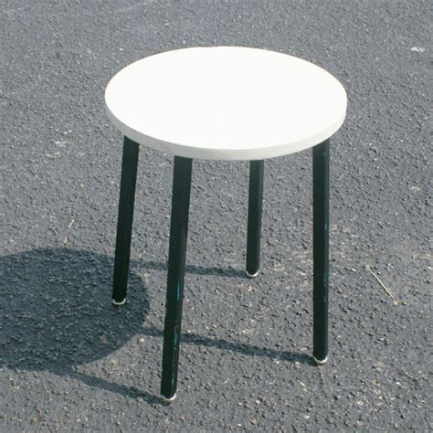 Mid Century Low Stool by Midcentury Retro Style Modern Architectural Vintage