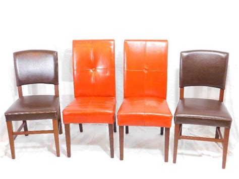 pier one dining room chairs 4 pier 1 imports leather dining room chairs pier 1