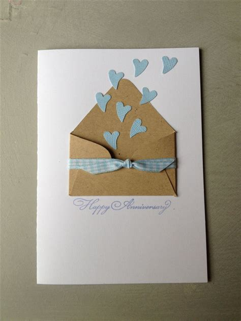 Paper Craft Ideas For Weddings - 25 best ideas about anniversary cards on