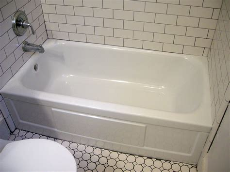can a bathtub be refinished refinished bathtub ontario park bungalow blog