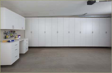 Garage Shelving Floor To Ceiling Garage Cabinets How To Choose The Best Garage Storage