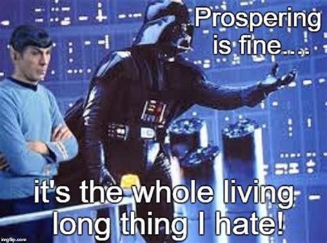 Star Wars Star Trek Meme - trek wars imgflip