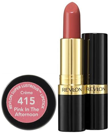 Lipstik Revlon Lustrous 415 revlon lustrous lipstick 415 pink in the afternoon