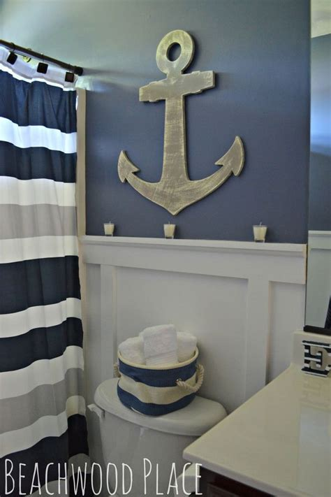 bathroom wall ideas decor best 25 nautical bathroom decor ideas on nautical theme bathroom nautical