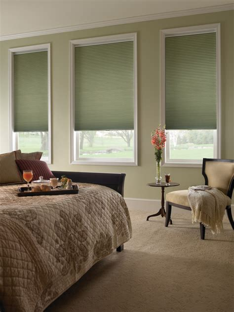 bedroom blackout shades blinds com 1 2 quot single cell blackout honeycomb shade