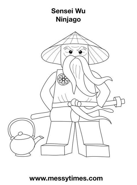 lego ninjago sensei wu coloring pages sensei wu lego ninjago birthday party ideas