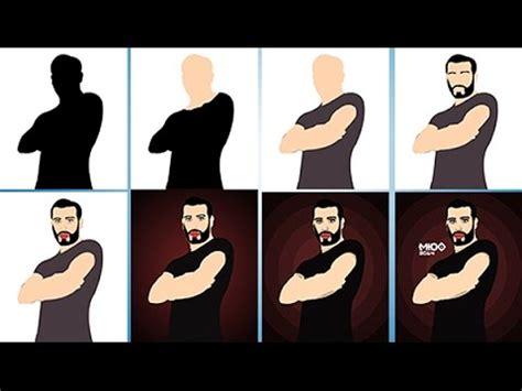 tutorial vector image photoshop تحويل الصورة الى كرتون بالفوتوشوب vector art tutorial in