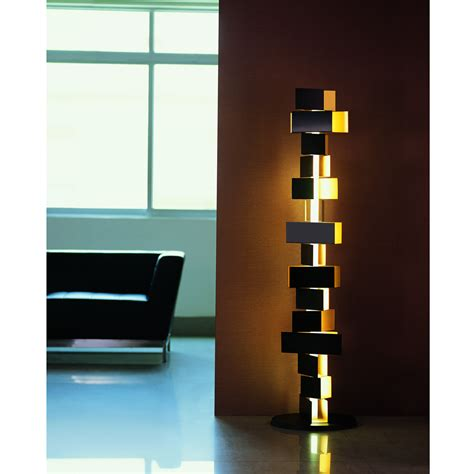Gemma Stacked Block Floor L From Fashion For Home Designer Lights