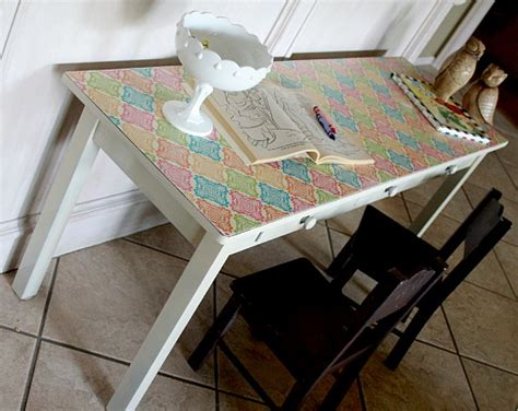 How To Decoupage Furniture - how to decoupage furniture with modge podge tutorial