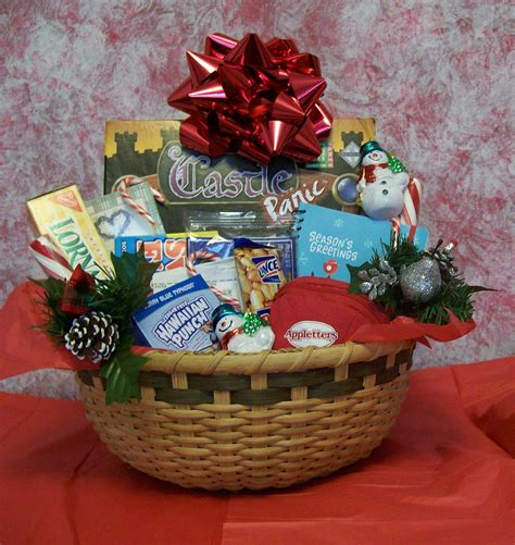homemade family gift basket ideas for christmas diy