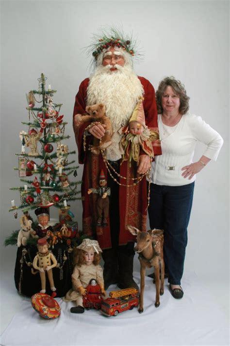 Handmade Santas - ooak size handmade inspired world santa