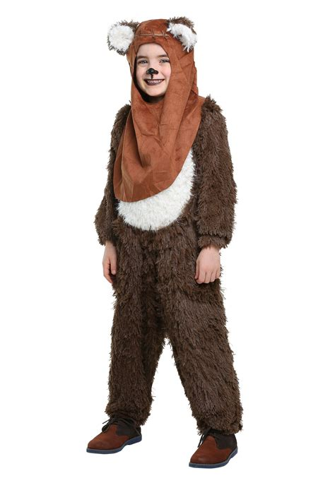 ewok costume for child deluxe wicket ewok costume
