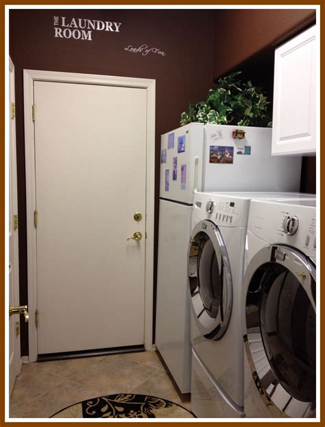 Easy Laundry Room Makeovers by An Easy Laundry Room Makeover Managedmoms
