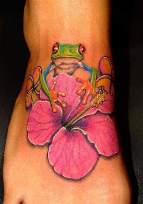 34 delightful frog tattoos that will leave you hopping