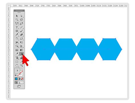 Repeating Objects Using The Blend Tool In Illustrator Mines Press Step And Repeat Illustrator Template