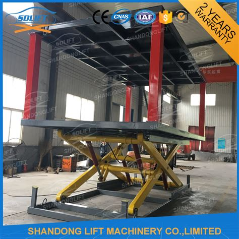 In Ground Garage Lift by In Ground Hydraulic Car Lift Www Imgkid The Image