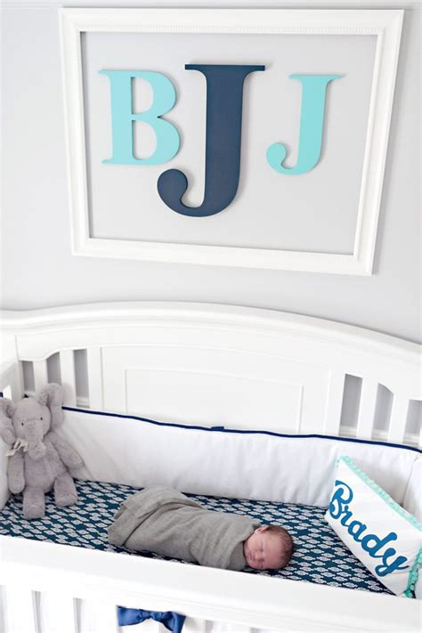 Decorating Baby Boy Nursery Best 25 Boy Nursery Letters Ideas On Decorative Wooden Letters Diy Decorate