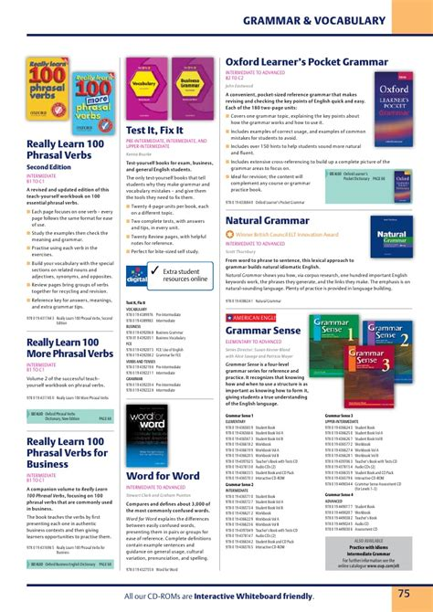 Oxford Learner S Pocket Grammar oxford grammar and vocabulary