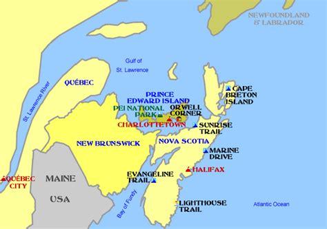 map of maritimes provinces canada maritimes
