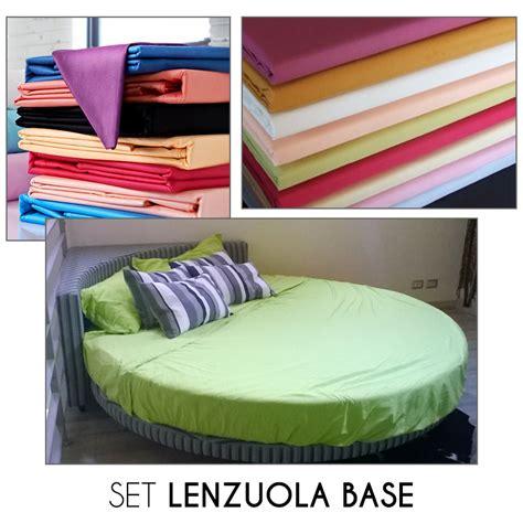 set lenzuola set lenzuola base per letto rotondo interno77