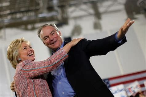 by picking anti abortion tim kaine hillary is testing hillary clinton picks tim kaine as running mate