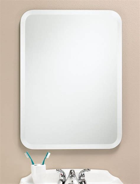 rounded corner bathroom mirror 19 best oval mirrors images on oval mirror beveled mirror and solid wood
