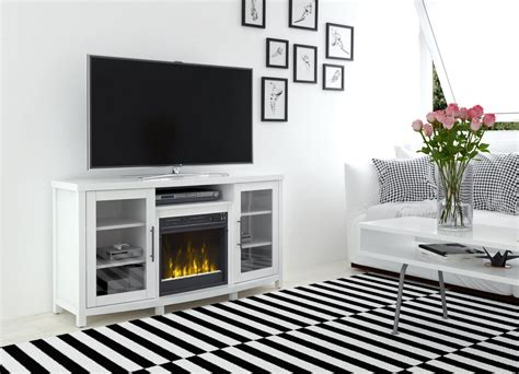 white electric fireplace media console archer electric fireplace media console in white 18mm6036 pt85s