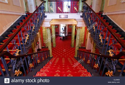 houses to buy in doncaster entrance staircase and balcony doncaster mansion house doncaster stock photo