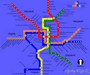 Washington subway map holidaymapq com 174