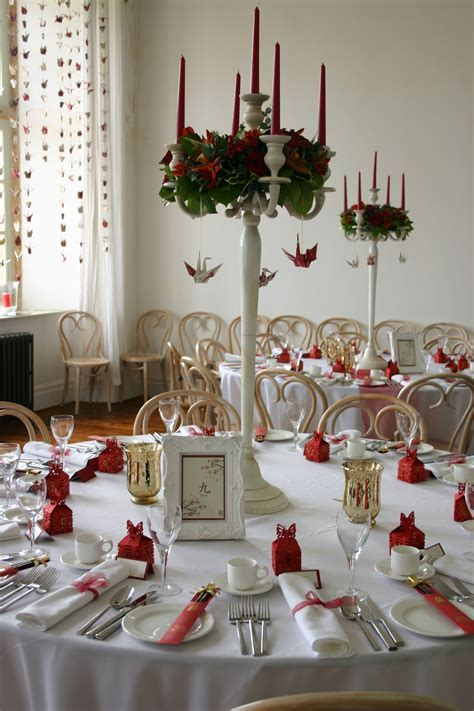 Chinese themed wedding with paper cranes   My dream