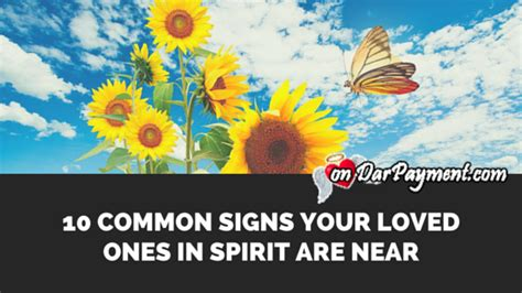 Spirits Of Loved Ones In House by 10 Common Signs From Your Loved Ones In Spirit