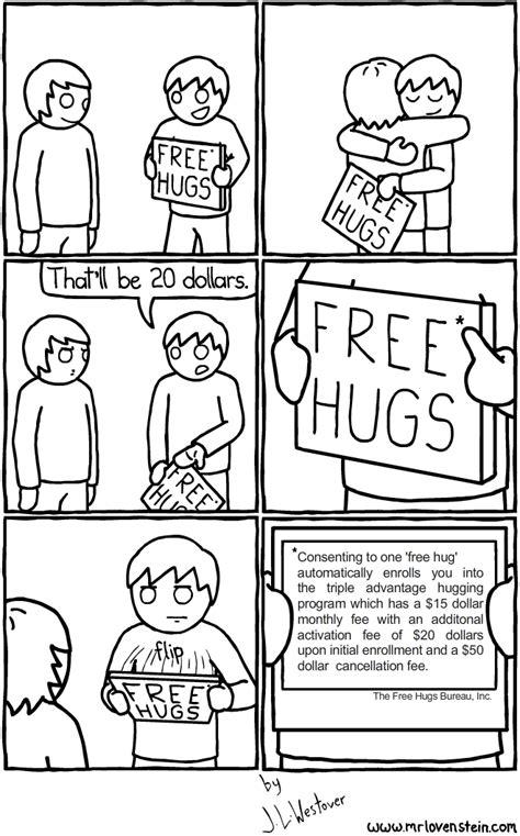 Free Hugs Ukuran L 1 mr lovenstein free hugs