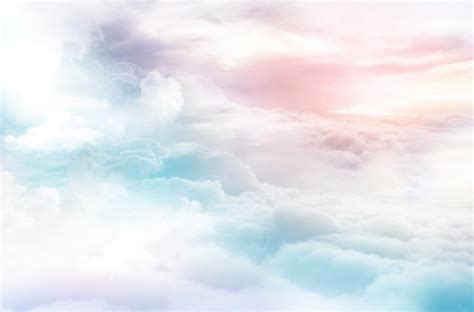 colorful clouds colorful clouds dreamy sky background abstract air
