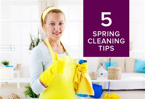 spring cleaning tips 5 spring cleaning tips to get your home organized
