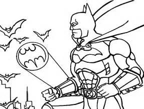 imprimir gratis dibujos colorear batman