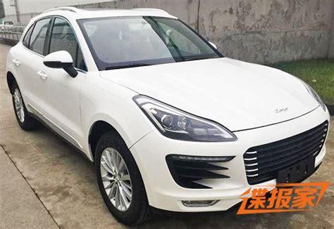 Porsche Macan China by Zotye Brushes Porsche Will Debut Sr8 Macan Copy At