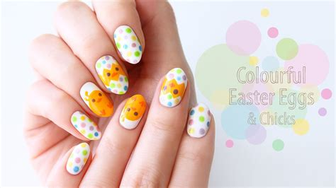 super easy nail art youtube super easy easter egg nail art youtube