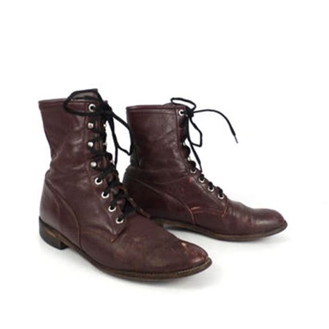 best lace up roper boots products on wanelo