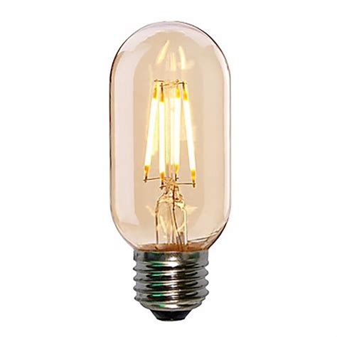 Led T45 4w E27 Smoked Bulb Mini Tube Filament Cult Uk Led Mini Light Bulbs