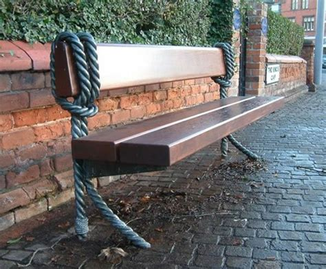 chris bench bespoke benches steel and mixed material chris