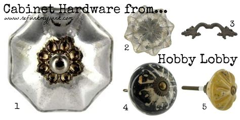 Hobby Lobby And Handles by Hardware Resources Refunk Junk