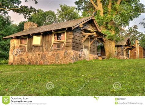 Lake Okoboji Cabins by Cabin In Iowa Royalty Free Stock Photography Image 26783487
