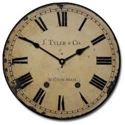 Shop houzz j tyler astor clock roman numerals wall clocks