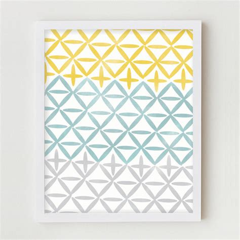 geometric geometric print home decor wall hanging simple