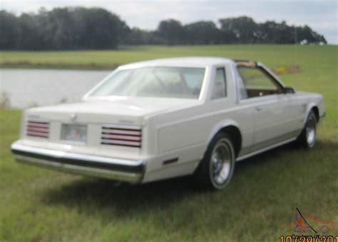 1982 dodge mirada special coupe t top 2 door 5 2l